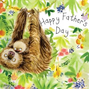 FIZ35 - Father's Day Card Lemurs